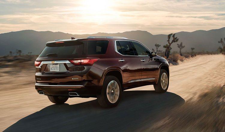 Chevrolet Traverse – идеальный автомобиль для семейных путешествий